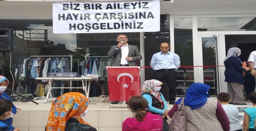 CHP İl Bşk;Sadece bugün değil her zaman vatandaşımızın yanındayız