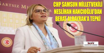 Hancıoğlu'ndan Berat Albayrak'a 'tüm zamanların rekoru' eleştirisi