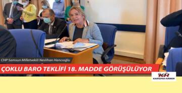 CHP M.V.Neslihan Hancıoğlu'nun Adalet Komisyonunda.Yaptığı Konuşma