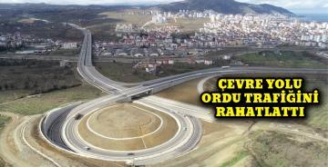 Ordu Çevre Yolu Şehir Trafiğini Rahatlattı