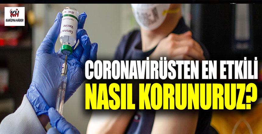 Coronavirüse karşı nasıl korunulur