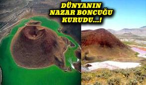 Doğa harikası Meke Gölü yok oldu!