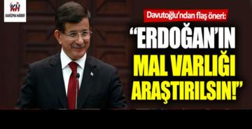 Ahmet Davutoğlu'ndan Recep Tayyip Erdoğan'a flaş cevap!