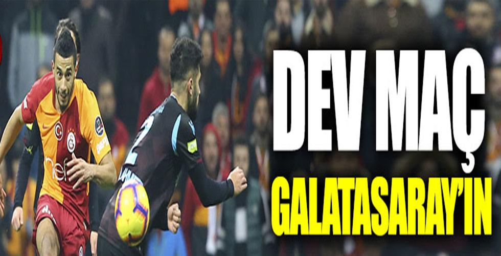 Galatasaray, Trabzonspor'u Eli Boş Gönderdi