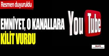 Emniyet Bazı Youtube Kanallarına Kilit Vurdu