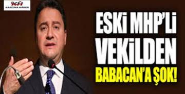 Erhan Usta'dan Ali Babacan açıklaması