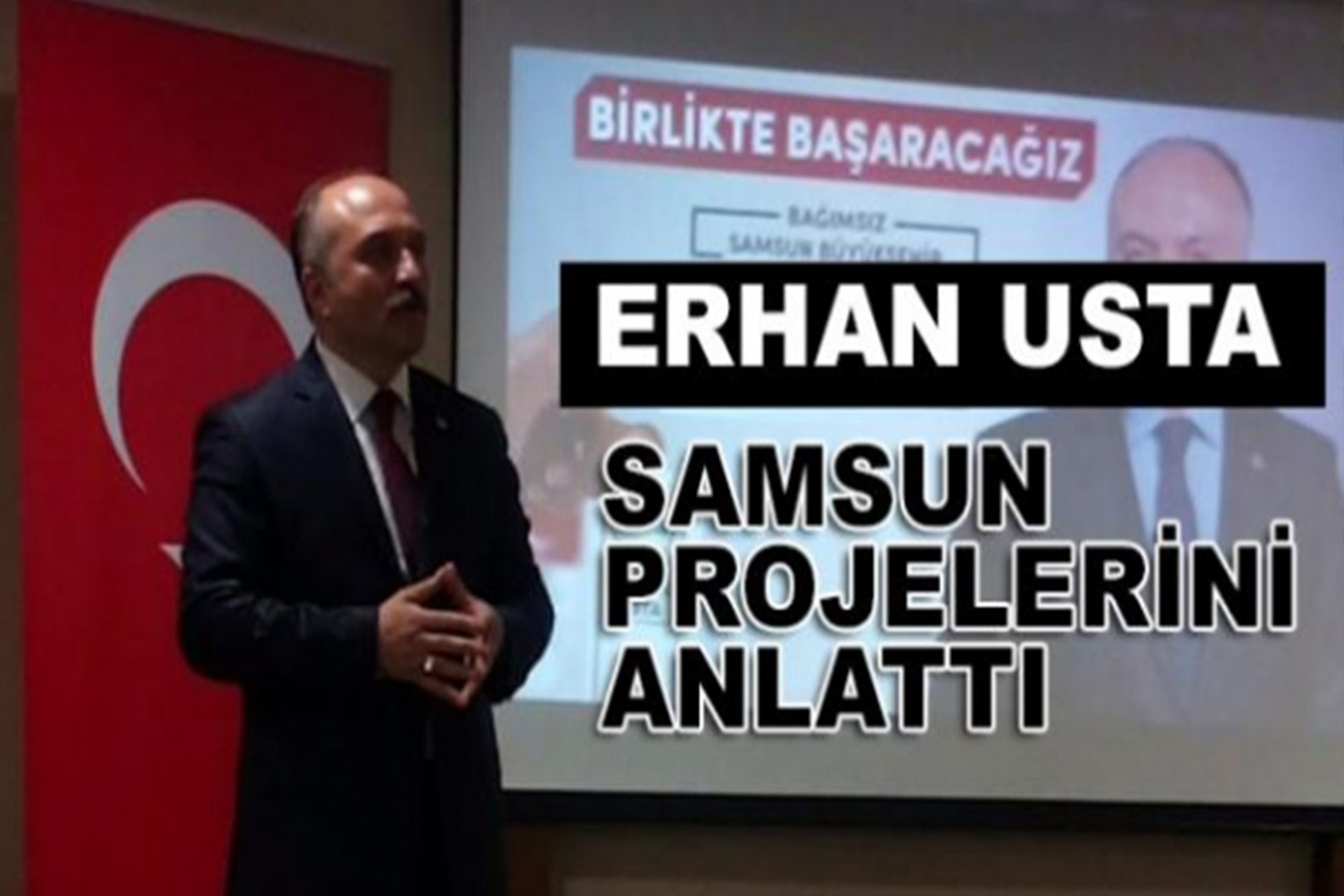 Samsun BB Başkan Adayı Erhan Usta'nın Proje Tanıtım Konuşması