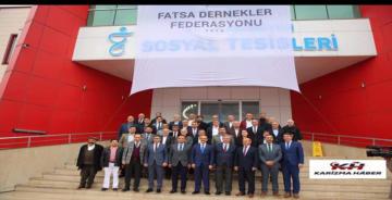 Vali Seddar Yavuz, Fatsa Dernekler Federasyonu tarafından Kahvaltılı İstişare programına katıldı.