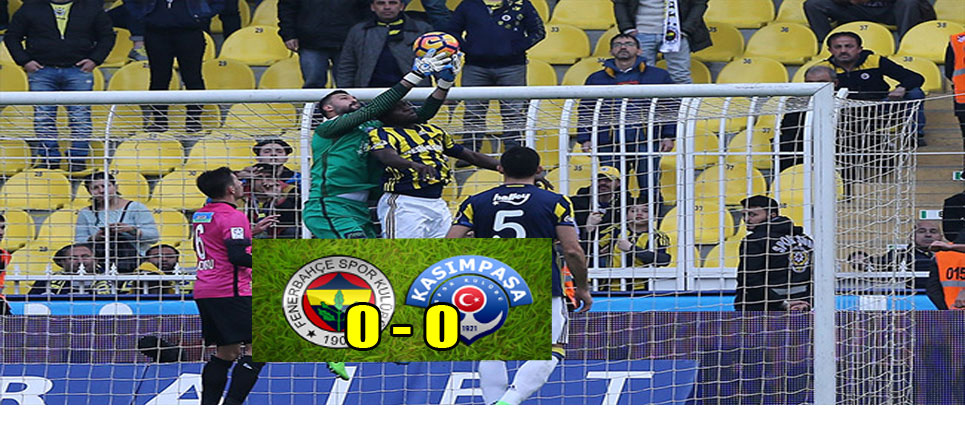 Fenerbahçe Kendi Sahasında 2 Puan Kaybetti