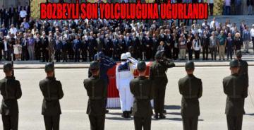 Ferruh Bozbeyli için TBMM'de tören düzenlendi