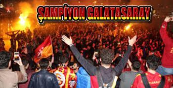 Galatasaray 21. Kez Şampiyon!