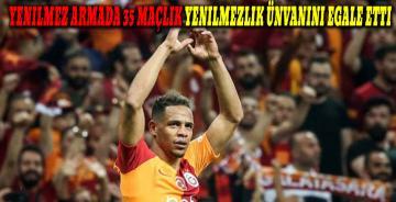 Galatasaray, Beşiktaş'ı 2-0 mağlup ederek, yenilmezlik rekorunu egale etti