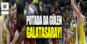 Galatasaray, Fenerbahçe'yi Basketbolda da Devirdi