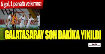 Galatasaray 3-3 Gaziantep