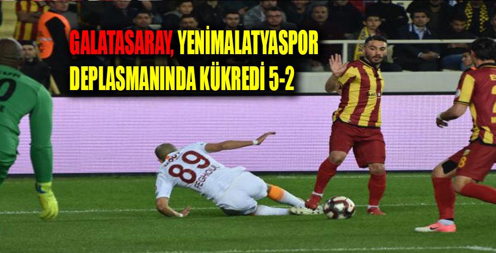 Yeni Malatyaspor: 2 – Galatasaray: 5