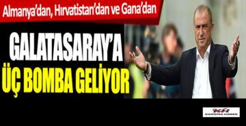 Galatasaray'a 3 bomba transfer geliyor!