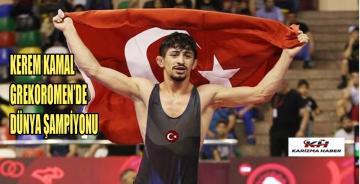 Ermeni rakibini yenen Kerem Kamal, dünya şampiyonu