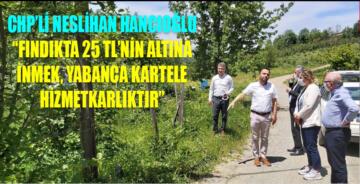 CHP'den iktidara 'üreticiyi satma!' uyarısı:
