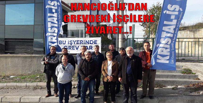 """Hancıoğlu; """"Sendikal örgütlenme en temel Anayasal haktır"""""""
