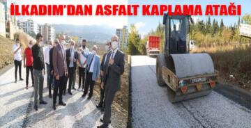 İLKADIM BELEDİYESİ'NDEN SATHİ KAPLAMA ATAĞI