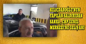 Kılıçdaroğlu CHP Genel Merkezine böyle geldi