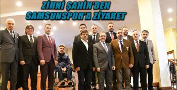 Büyükşehir Belediye Başkanı Zihni Şahin'den Samsunspor'a Müjde