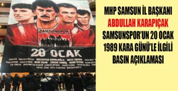 Samsunspor bir futbol takımından öte bir tutkudur,aşktır.