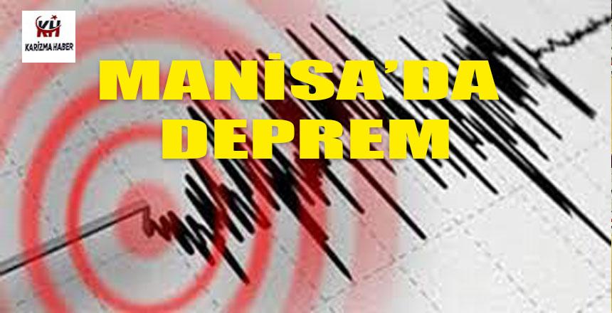 Manisa'da 5,4 şiddetinde deprem…