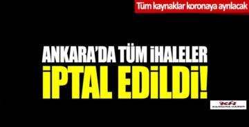 Mansur Yavaş duyurdu: Ankara'da tüm ihaleler iptal edildi