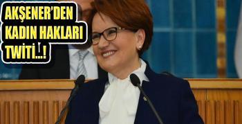 Meral Akşener'den 'Kadına Şiddete Hayır' paylaşımı