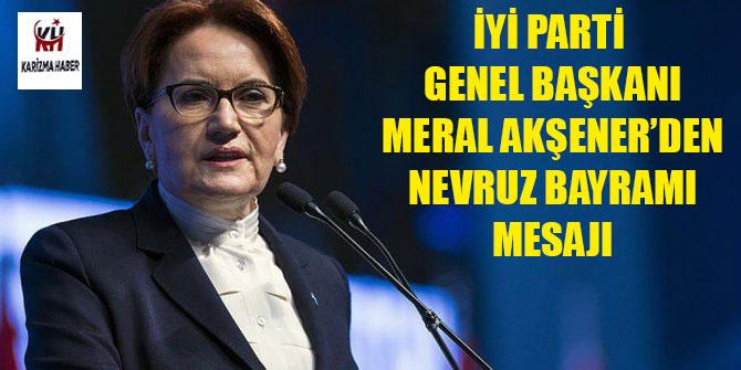 Meral Akşener'den Nevruz paylaşımı