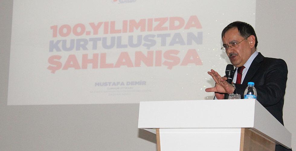 Mustafa Demir, 4 ilçede SKM açılışına katıldı,