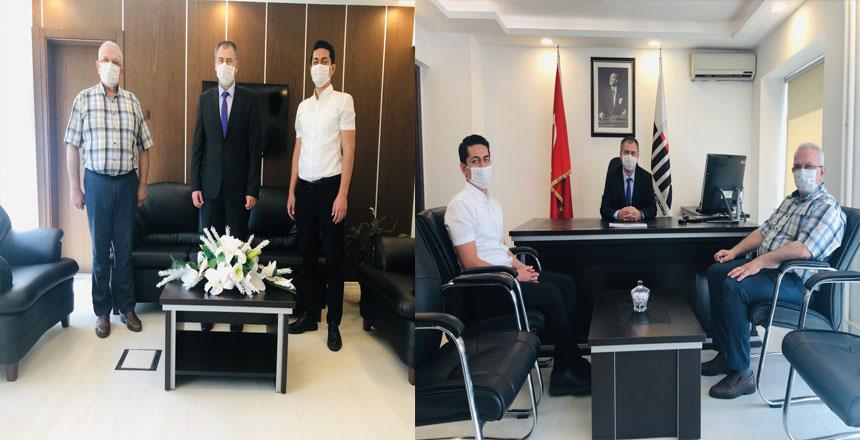Karabiber, TÜİK Samsun Bölge Müdürü Halil EMECEN 'i ziyaret etti.