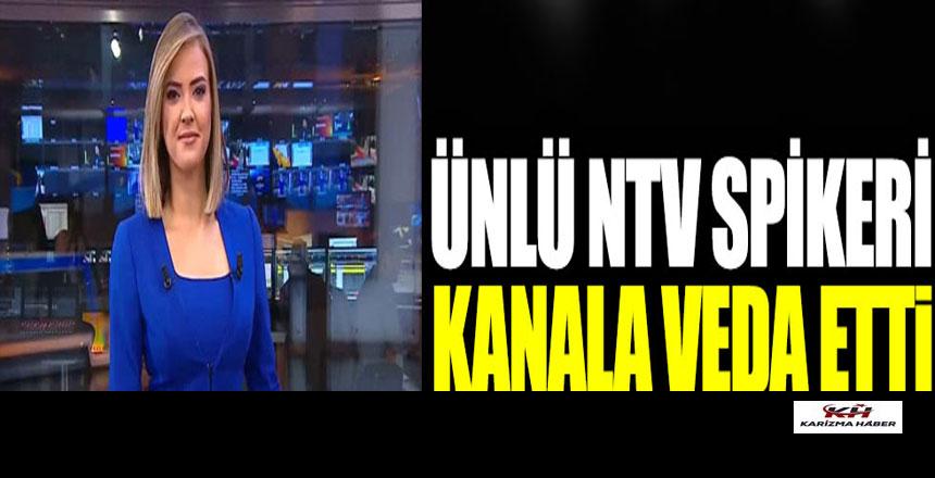 NTV'nin ünlü spikeri Simge Fıstıkoğlu kanala veda etti