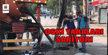 OSKİ SELİN YARALARINI SARIYOR