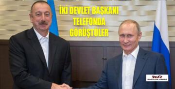 Putin, Aliyev ile görüştü