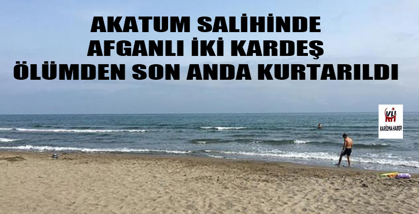 Samsun'un Atakum Sahilinde Can pazarı!