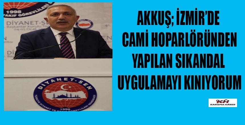 Samsun Diyanet-Sen 1 Nolu Şube Başkanının Basın Açıklaması