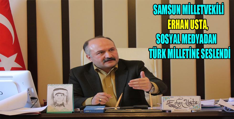 Samsun Milletvekili Erhan Usta'nın Basın Açıklaması