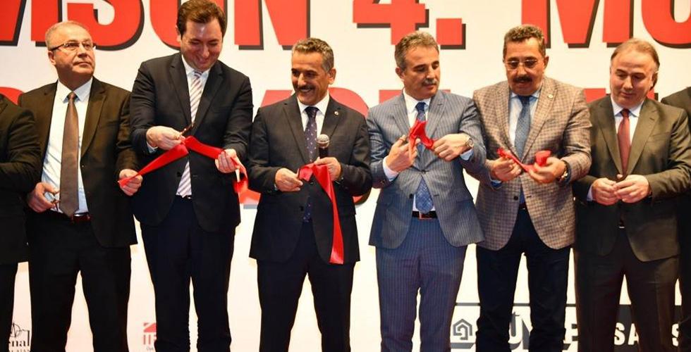 Vali Osman Kaymak Samsun 4. Mobilya Fuarının Açılışını Yaptı