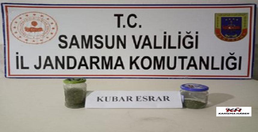 Samsun'da asayiş uygulamasında 18 Şüpheli Gözaltına Alınmıştır