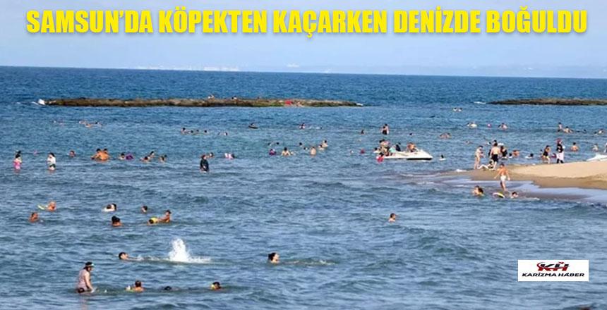 Köpek saldırısından kurtulmak isterken denizde boğuldu
