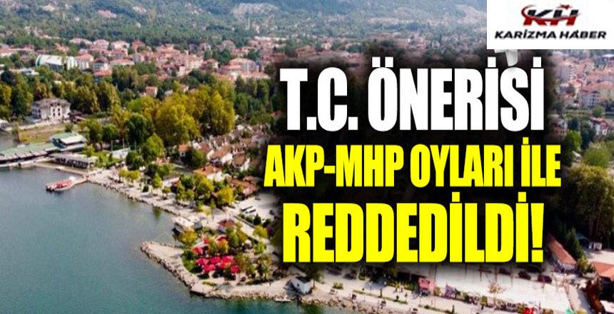 TC önerisi, AK Parti-MHP oyları ile reddedildi