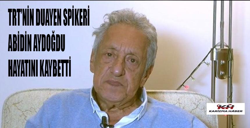 Türkiye'nin efsane spikeri vefat etti