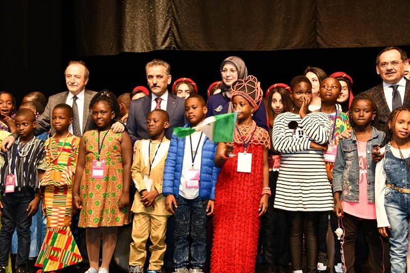 41.TRT Uluslararası 23 Nisan Çocuk Şenliği, Samsun'da Büyük Coşkuyla Başladı