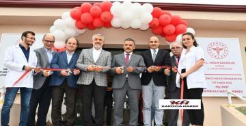 Vali Kaymak, OMÜ Pelitköy Eğitim Aile Sağlığı Merkezi'ni açtı.