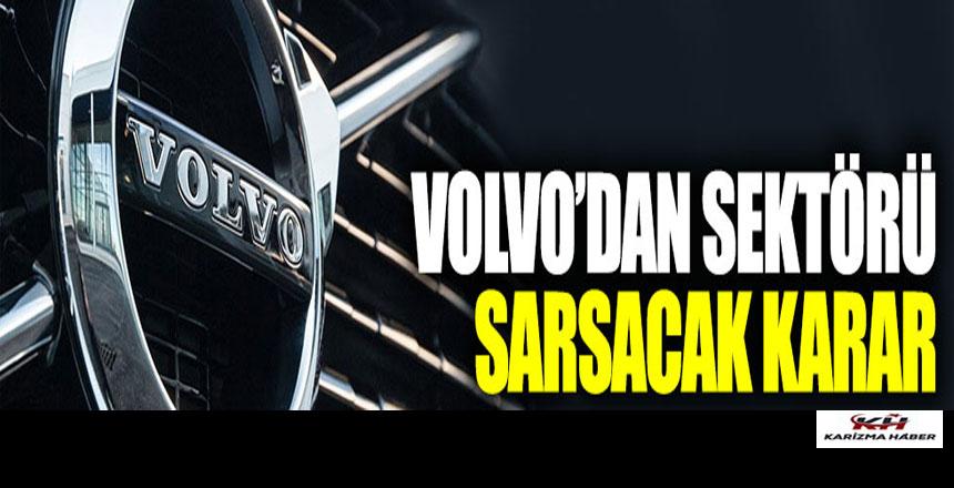 Volvo'dan hız sınır kararı: 180'i geçemeyecek