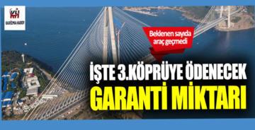 Y. S. Selim Köpsüsü'ne 'garanti' için ödenecek miktar belli oldu