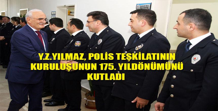 TÜRK POLİS TEŞKİLATI'NIN 175. KURULUŞ YILDÖNÜMÜ