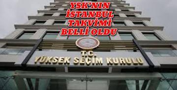 YSK İstanbul görüşmesi için tarih verdi